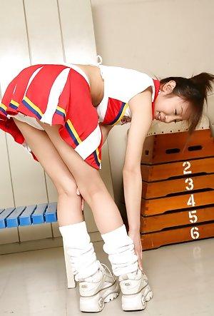 Cheerleader Asian Porn