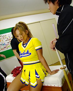 Cheerleader Asian Porn